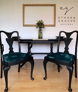 Upcycled Dining Chairs from Ethan & Grac