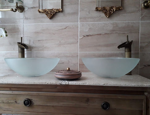 Julia Clare Interiors Upcycled Vanity Un
