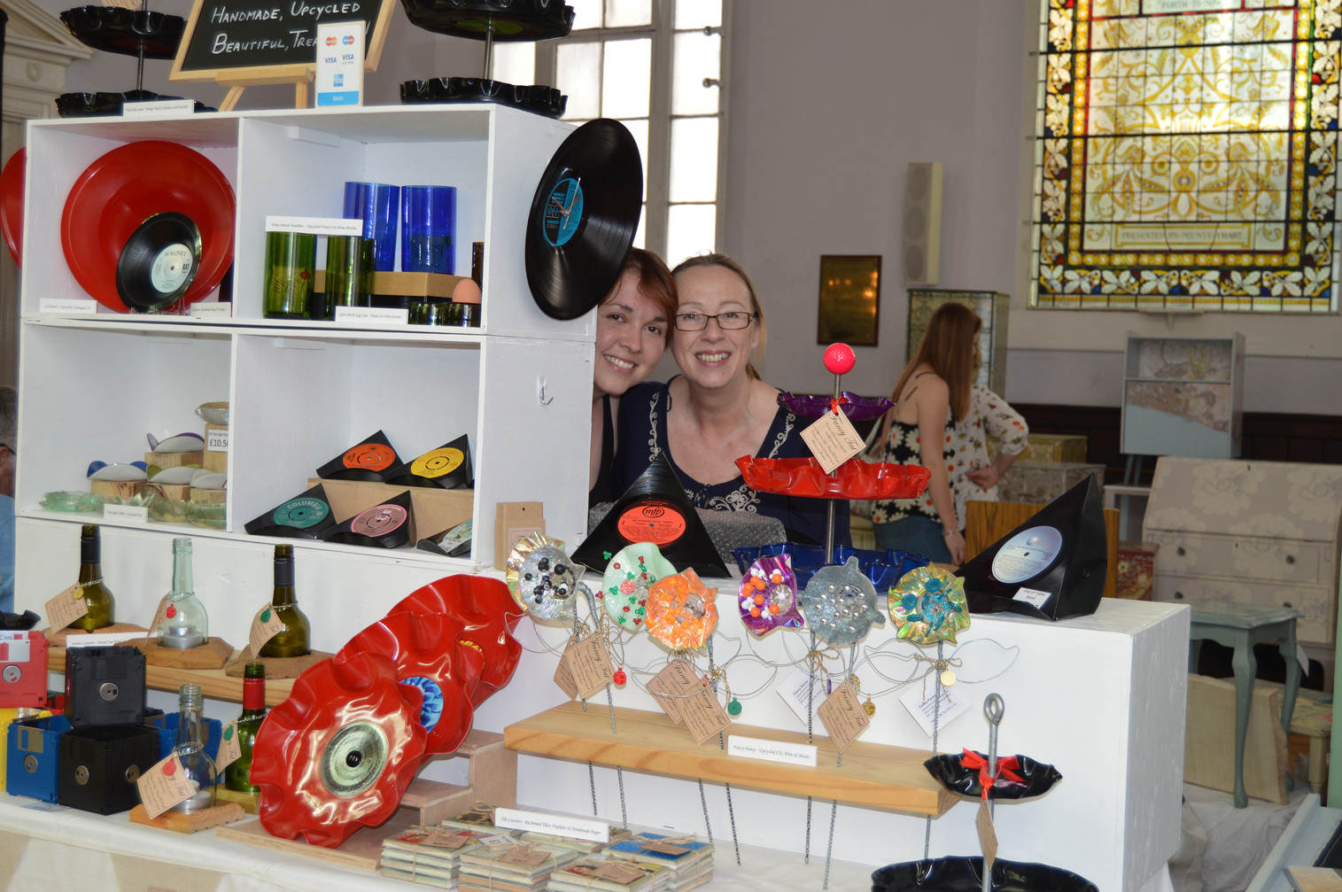 Fancy Tat Crafts | Upcycled Hour Live Brighton 2017