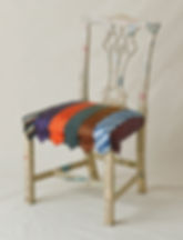 Old Bag Designs Upcycled Chair