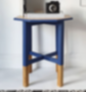 Maisies House Blue Side Table.png