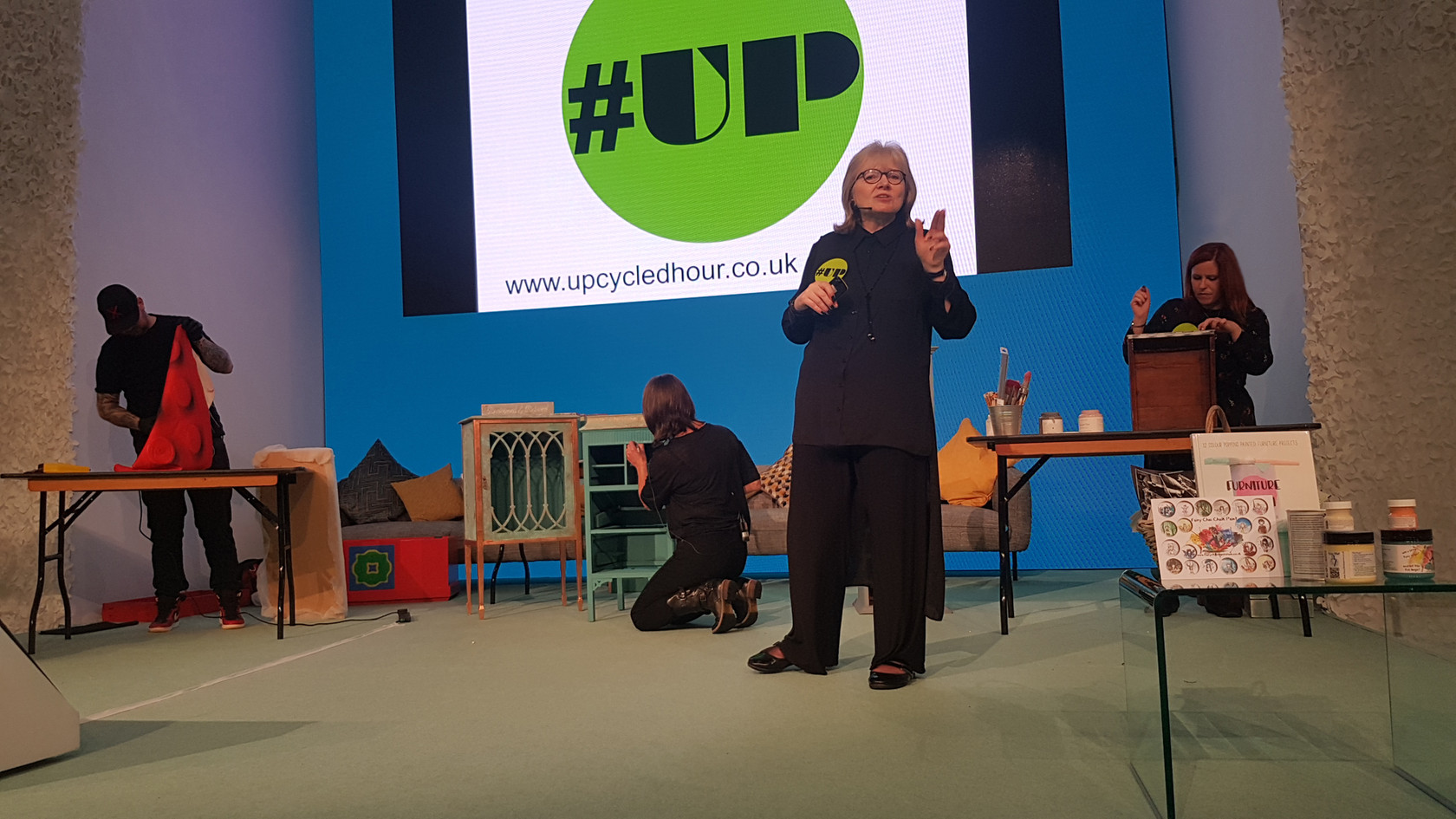 On-Stage at Grand Designs Live Oct 2018