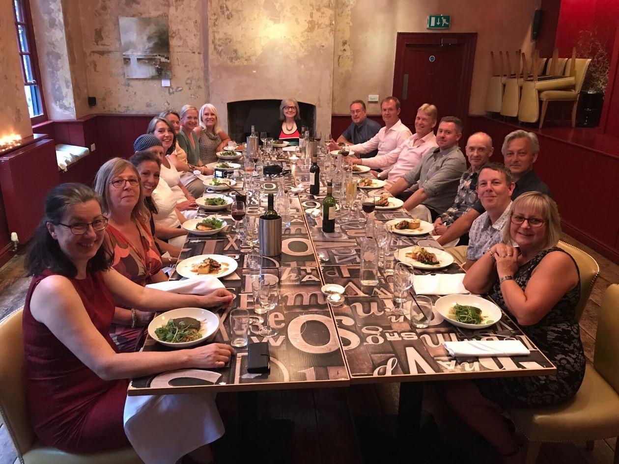 Members Dinner Date Frome June 2017