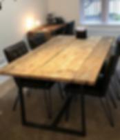 Gibbs Design Reclaimed Wood Dining Table