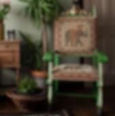 Malphor Refurbished Asian Style Chair.pn