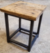 Gibbs Design Reclaimed Wood Side Table.p
