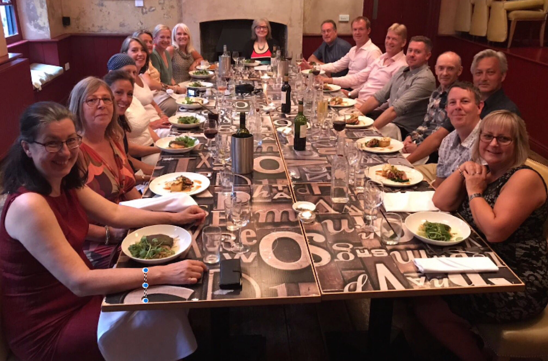 Members Dinner Date Frome July 2017