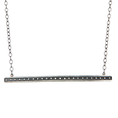 Single Bar Industrial Necklace