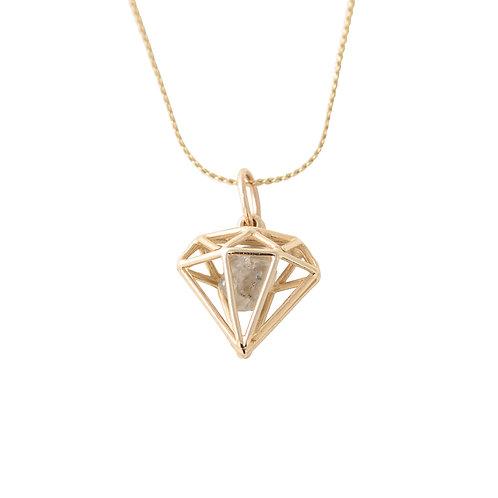 Diamond in a Cage