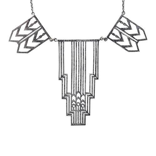 Deco Gate Statement Necklace