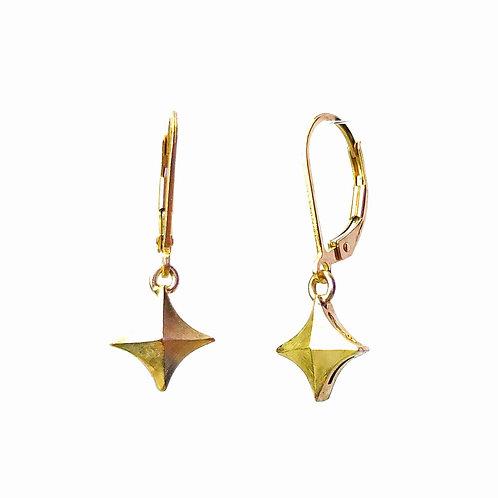 Simple Stardust Dangle Earrings