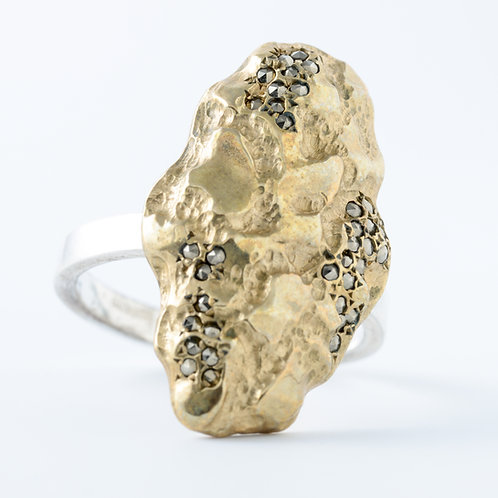 Golden Nugget Ring