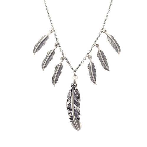 Dancing Feathers Necklace