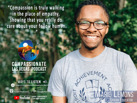 Episode 014: Compassion in Education with Mario Lemons