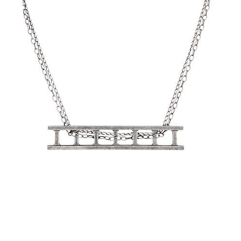 Train Track Necklace