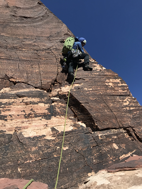Red Rock Climbing Trip