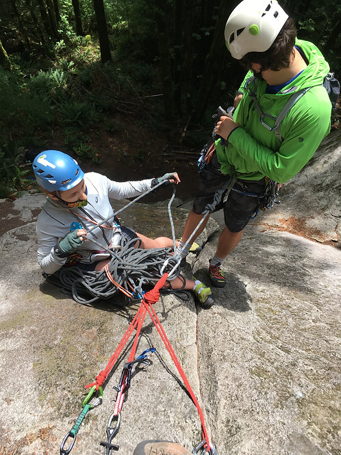 Traditional Climbing Course: 3 Day