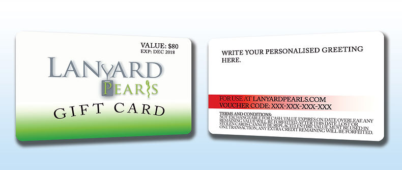 Gift card for nursing and medical students