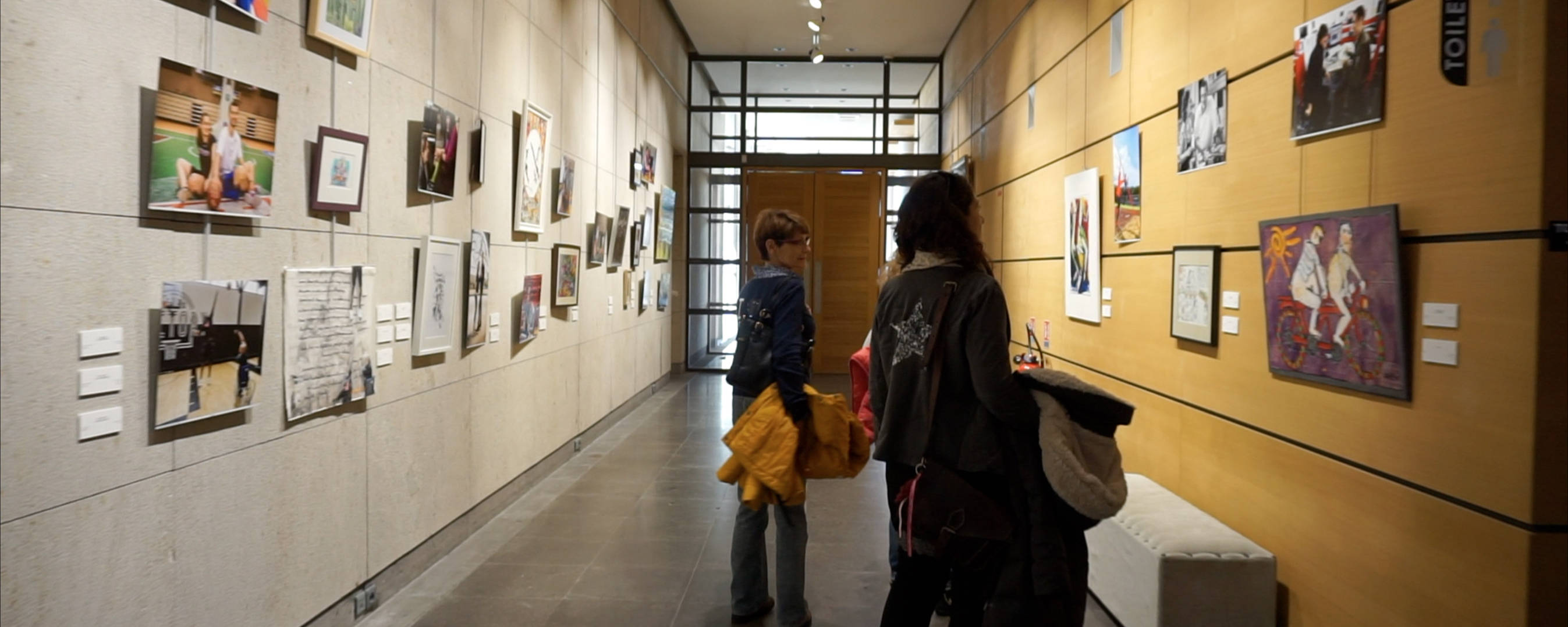 Espace Jacques Barrot - Salle d'exposition