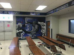 Cafeteria Wall