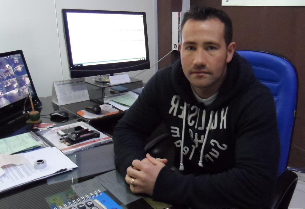 Júlio César, gerente da Vidraçaria Chile/Jornal do Vidro