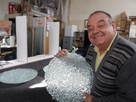 Sérgio Quadros: um artista que ensina a agregar valor ao vidro