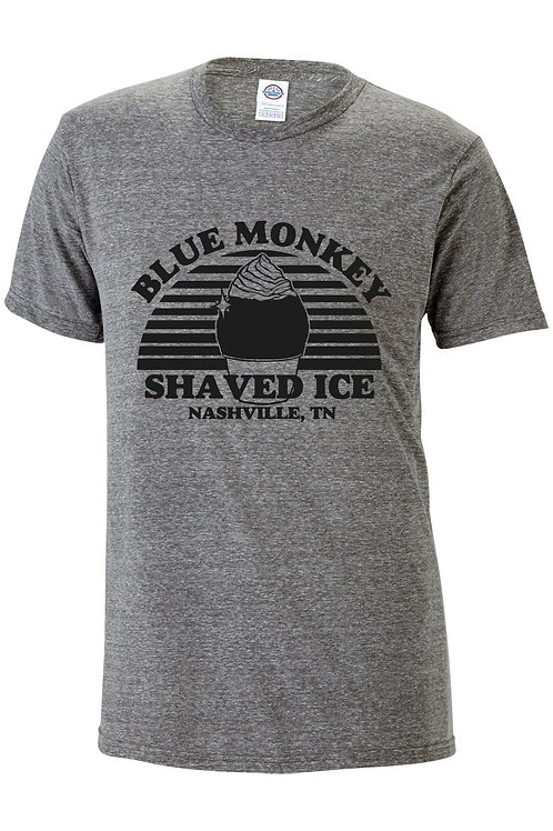 Blue Monkey Tshirt - Grey