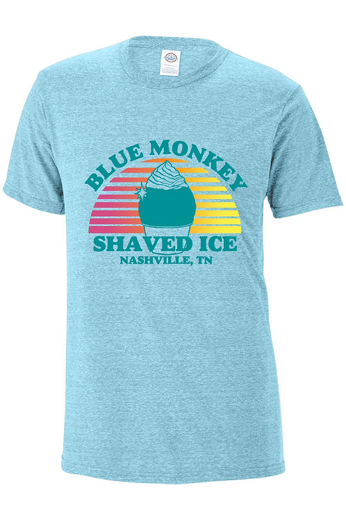 Blue Monkey T-shirt - Blue