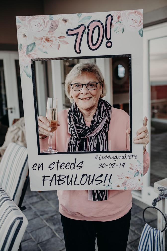 Santie Lessing | 70th Celebration