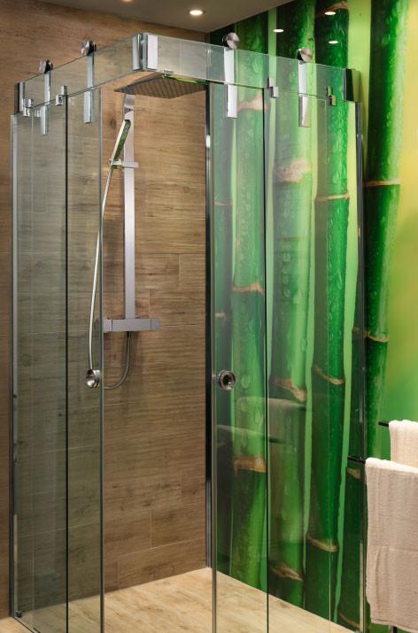 Glasdusche, Glas nach Maß, Duschtüre nach Maß, Glastrennwand