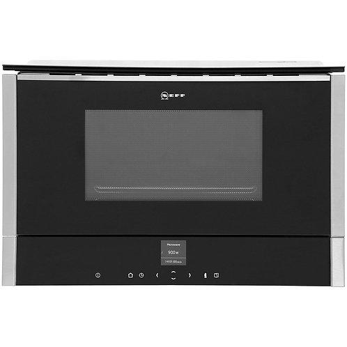 C17WR00N0B Neff N70 Compact Microwave - Left Hinged