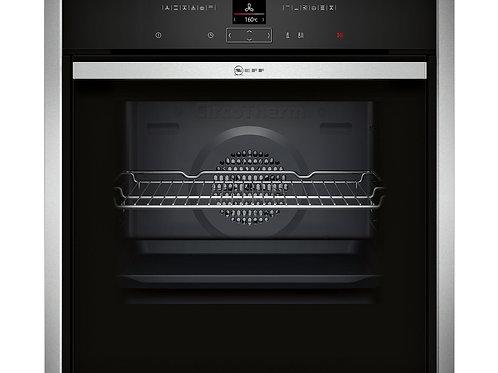 B47CR32N0B Neff N70 Single Oven with Slide & Hide Door
