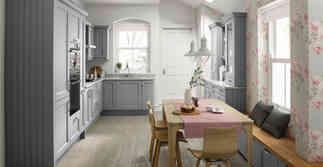 Mornington Beaded in Silver Grey