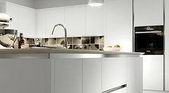 a ture handleless kitchen