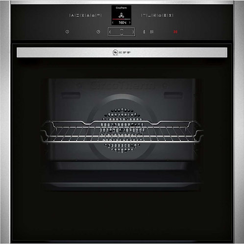 B57VR22N0B Neff N70 Single Pyrolytic Oven with Slide & Hide Door