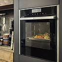Slide and hide Neff ovens