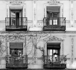 Fachada Madrid Las letras