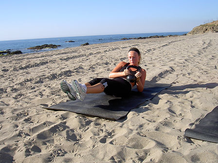Boot Camp Marbella With Female Personal Trainer.