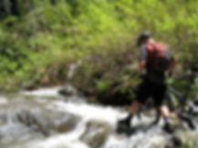 Downiville guided mountain biking, downhill shuttles