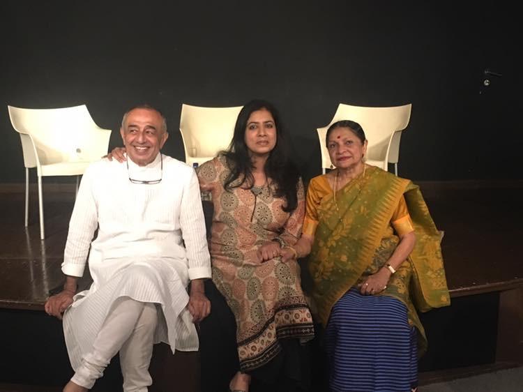 Astad Deboo, Arundhati Subramaniam and Darshana Jhaveri