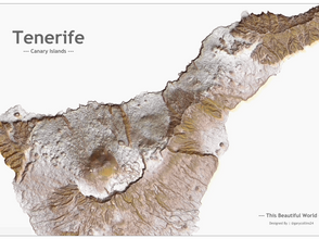 This Beautiful World Blog 2 | Less is more... | Visualising the Volcanic Island Tenerife