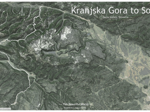 This Beautiful World Blog 4 | Mapping of an Iconic Driving Road | From Kranjska Gora to Soca