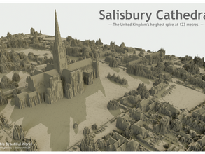 This Beautiful World Blog 6 | Mapping Terrain with LIDAR Data | Salisbury Cathedral