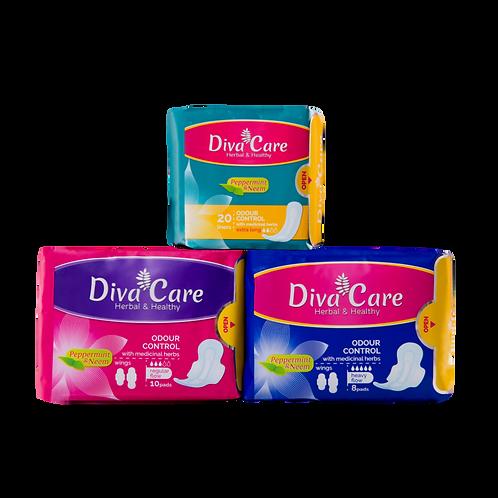 Diva Care Herbal Pad