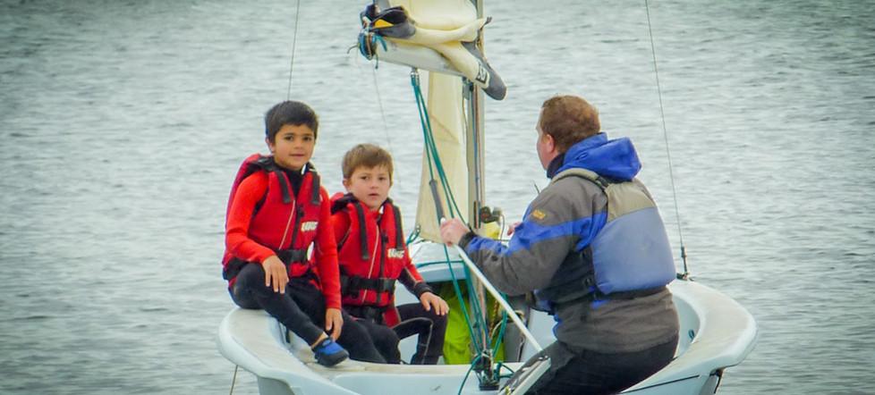 Boating on Tamar Lake