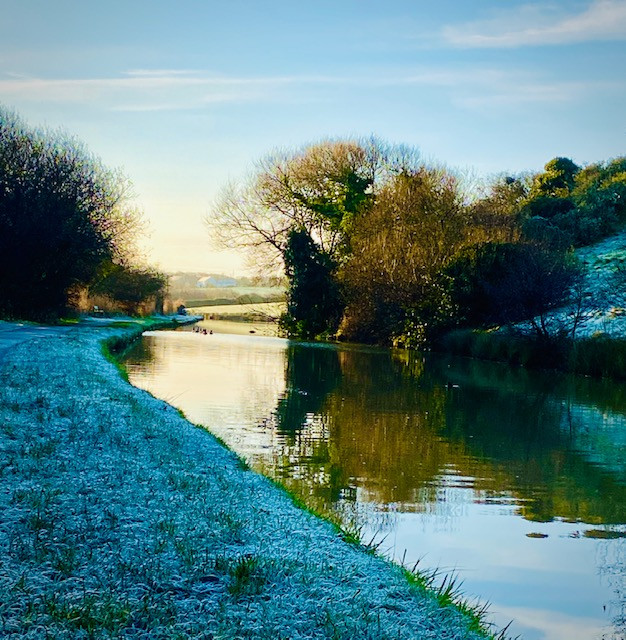Bude Canal in Winter
