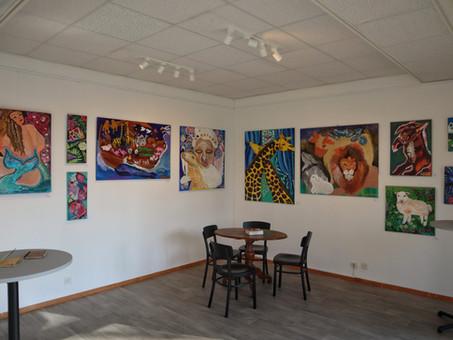Exposition « Le déluge artistique de Adoniz » de Deniz Tinar, Mars 2021
