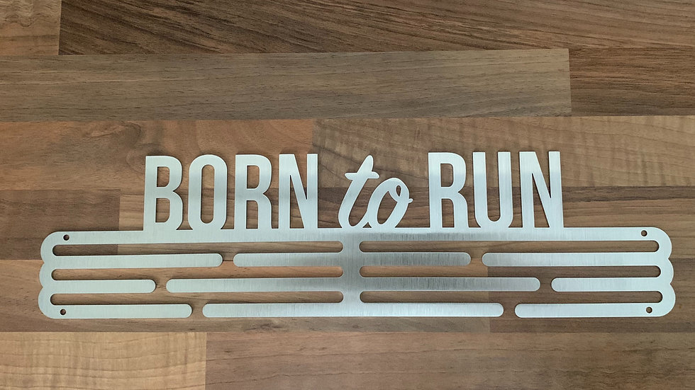 Born to Run Medal Hanger