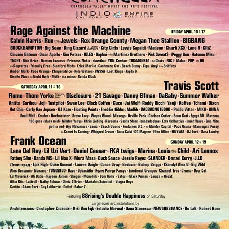 Coachella 2020 Lineup Released