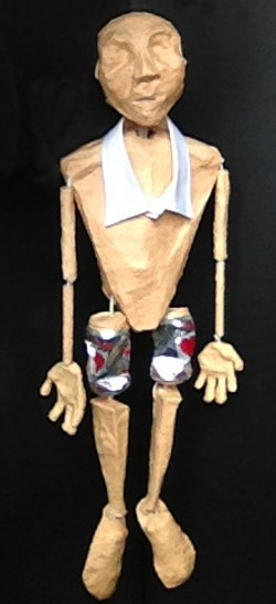 Bunraku puppet